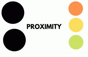 PROXIMITY PRINCIPLE OF DESIGN