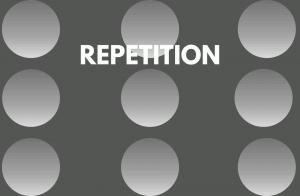 REPETITION PRINCIPLE OF DESIGN