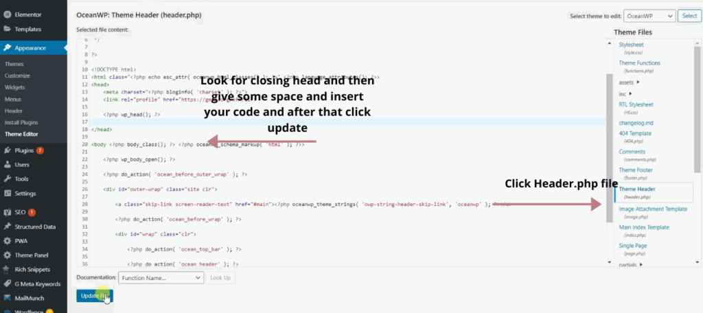 How To Add Google Analytics to WordPress Site Manually 